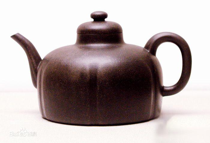 中国紫砂茗壶珍赏第3期——六瓣圆囊壶