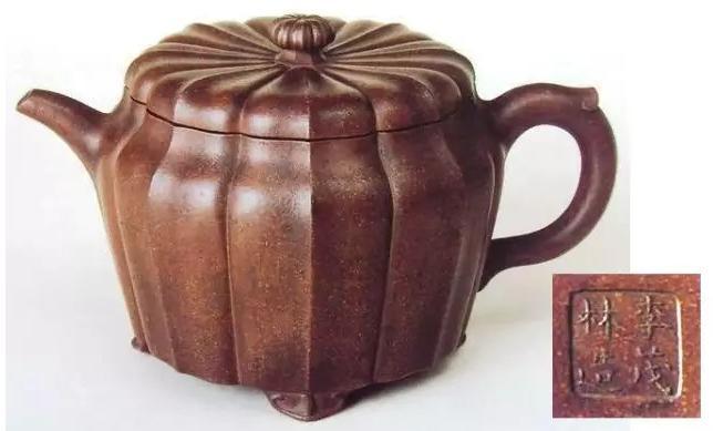 中国紫砂茗壶珍赏第6期——菊花八瓣壶