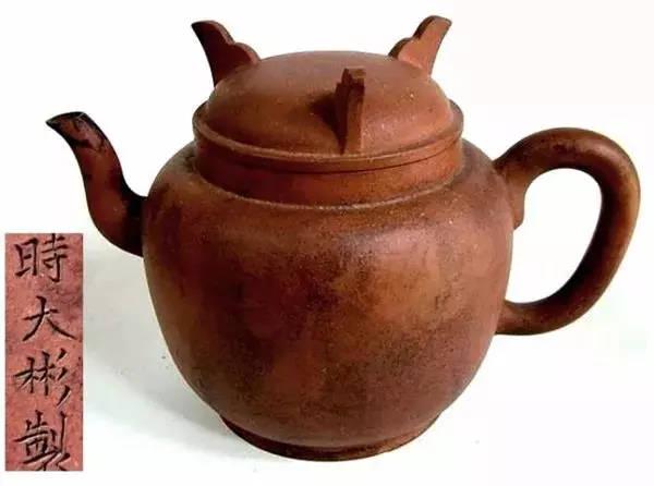中国紫砂茗壶珍赏第7期——鼎足盖圆壶