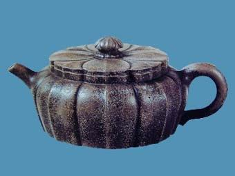 中国紫砂茗壶珍赏第15期——菱花瓣壶