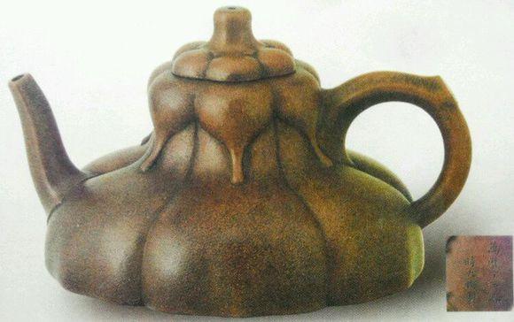 中国紫砂茗壶珍赏第17期——玉兰花瓣壶