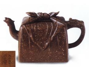中国紫砂茗壶珍赏第20期——龙凤印包壶