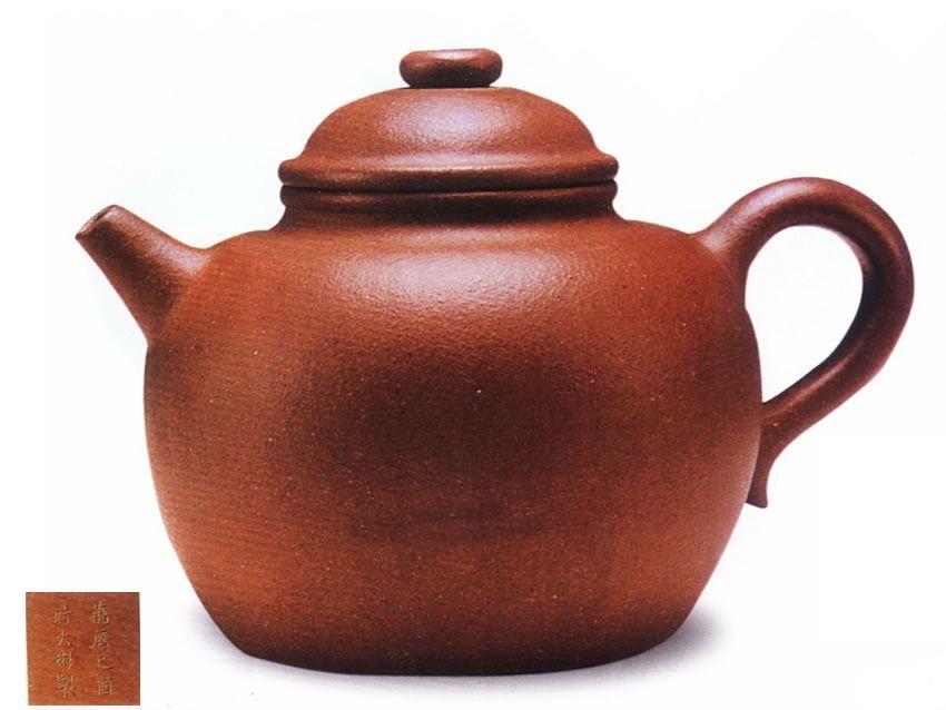 中国紫砂茗壶珍赏第22期——圈钮圆壶
