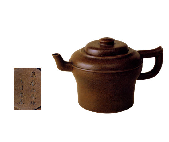 中国紫砂茗壶珍赏第29期——仿古虎錞壶