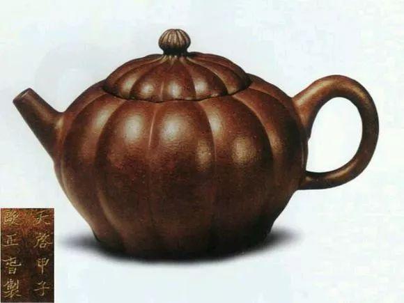 中国紫砂茗壶珍赏第32期——菊瓣壶