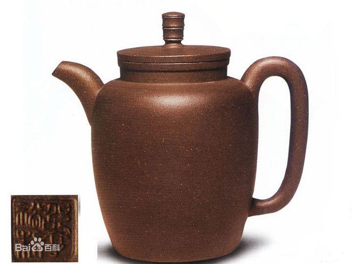 中国紫砂茗壶珍赏第34期——高节钮壶