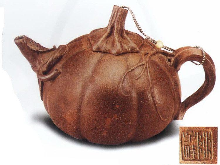 中国紫砂茗壶珍赏第40期——南瓜壶