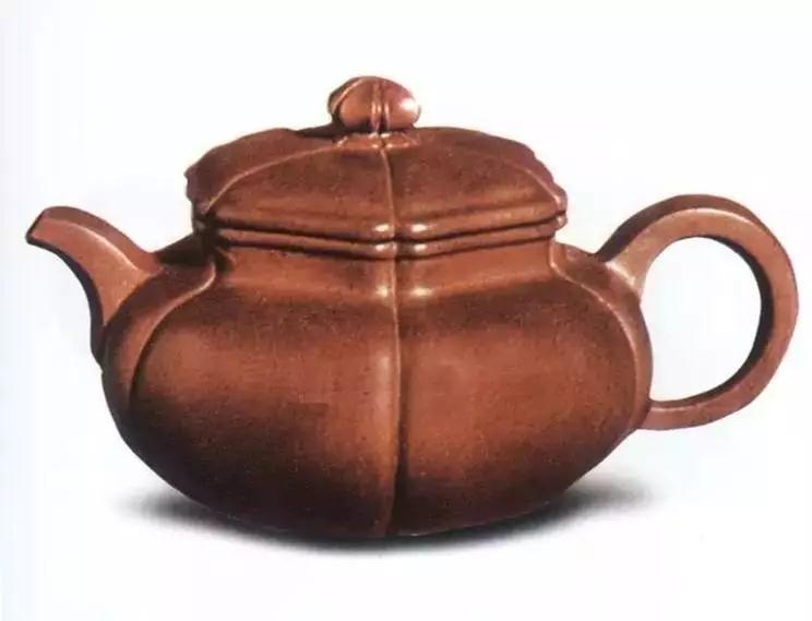 中国紫砂茗壶珍赏第41期——葵花棱壶