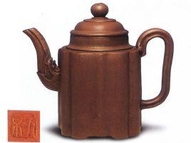 中国紫砂茗壶珍赏第46期——菱花龙首壶
