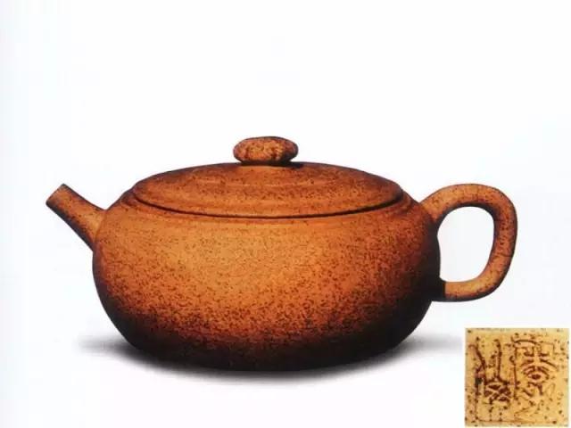 中国紫砂茗壶珍赏第45期——菊钮巨轮壶