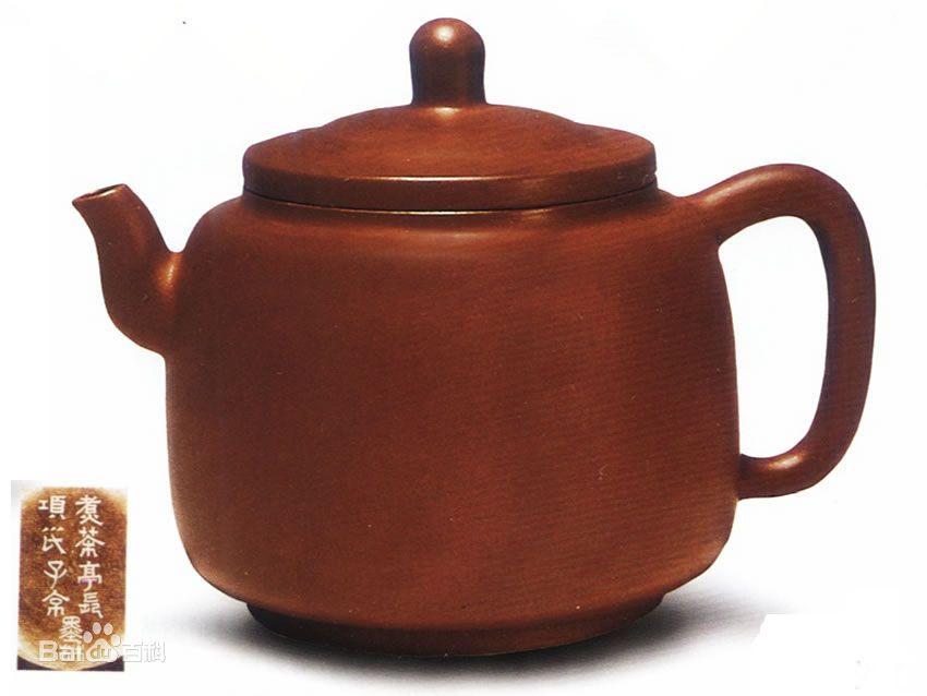 中国紫砂茗壶珍赏第50期——墨林壶