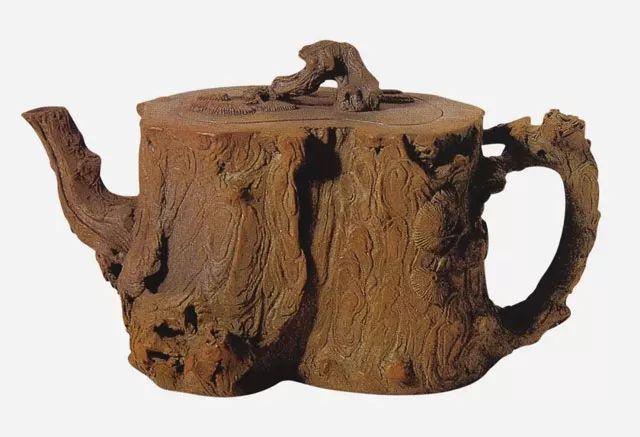 中国紫砂茗壶珍赏第58期——松段壶