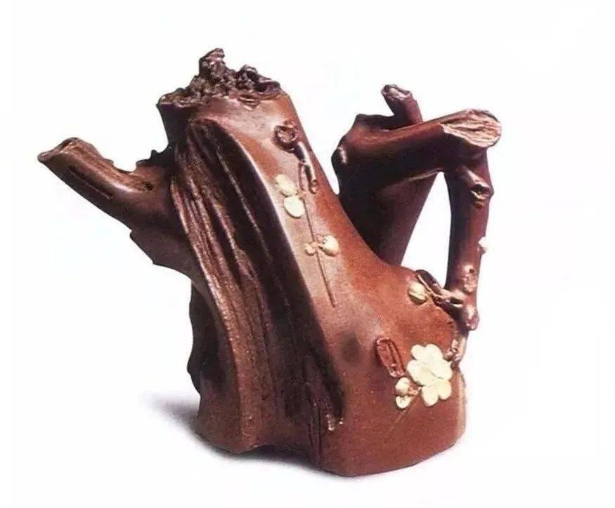 中国紫砂茗壶珍赏第56期——梅桩壶