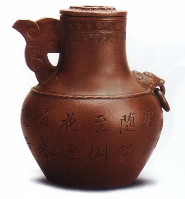 中国紫砂茗壶珍赏第55期——天鸡壶