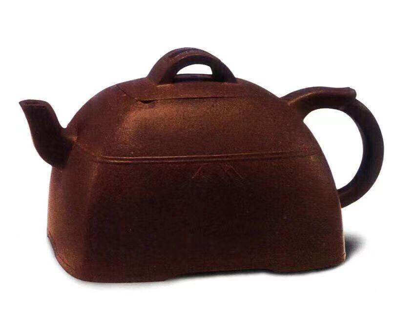 中国紫砂茗壶珍赏第65期——束腰方壶
