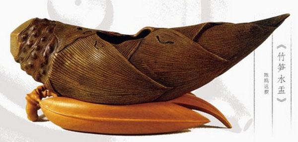 中国紫砂茗壶珍赏第67期——笋形水盂