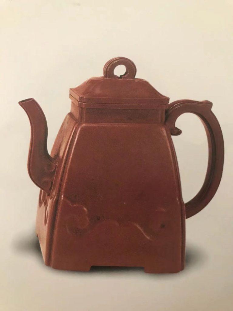 中国紫砂茗壶珍赏第91期——如意云纹汉方壶