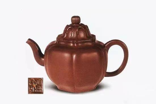 中国紫砂茗壶珍赏第90期——芝硕壶