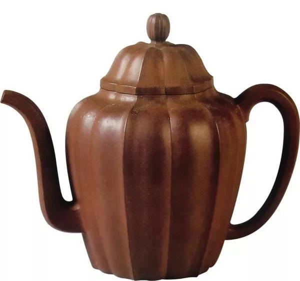 中国紫砂茗壶珍赏第89期——水仙花瓣壶