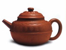 中国紫砂茗壶珍赏第82期——万寿纹壶