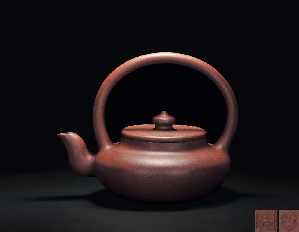 中国紫砂茗壶珍赏第97期——提梁壶